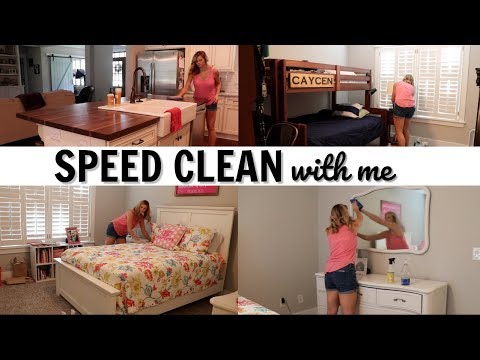 SPEED CLEAN WITH ME // MAJOR CLEANING MOTIVATION // CLEANING KIDS' ROOMS