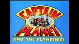 Intro / Opening de la serie Capitan Planeta (España)