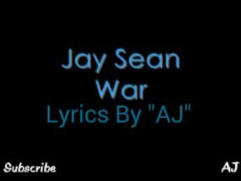 Jay Sean WAR song with lyrics