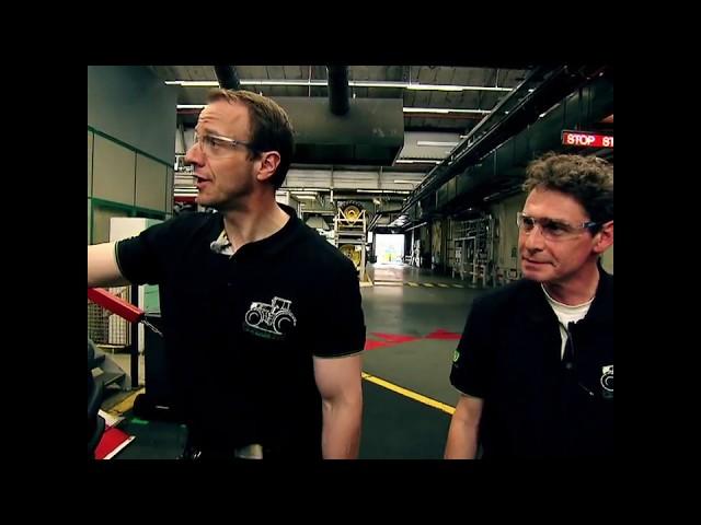 Besuch im größten Traktorenwerk Europas