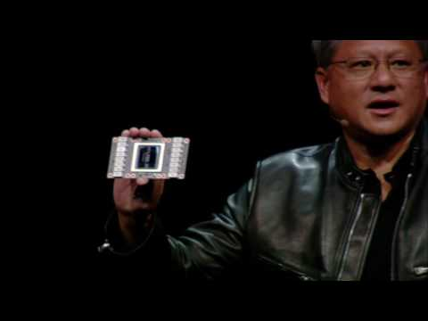 GTC 2017: NVIDIA Announces Tesla V100 (NVIDIA keynote part 6)
