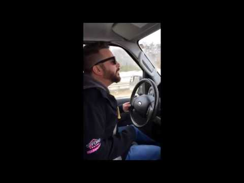 Maine Radio Station WJBQ Van is on Fire?