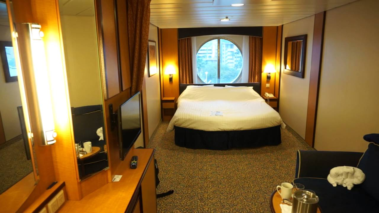 Brilliance Of The Seas Outside Stateroom 8504 Youtube