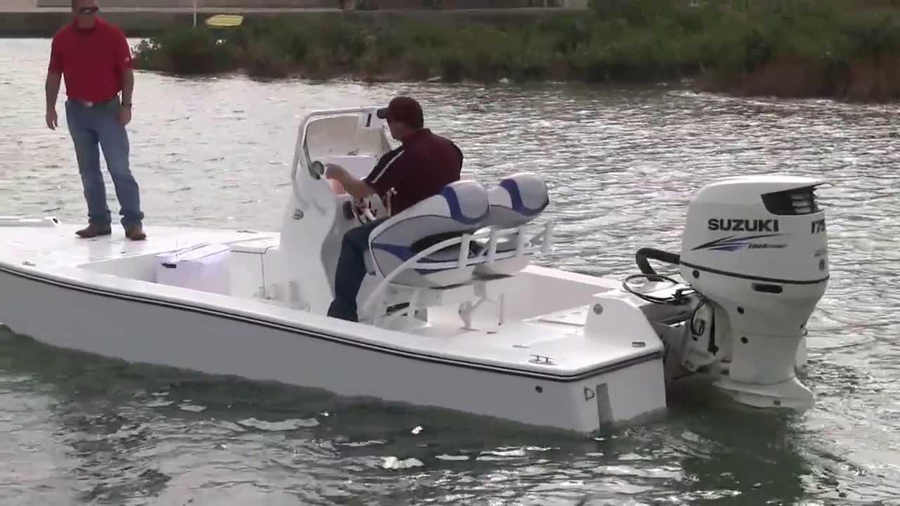 Shallow Water Boats >> Tiburon Bay Boat Running Shallow Water