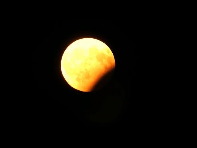 Részleges holdfogyatkozás 2017. augusztus 7-én /Eclipse Time-lapse