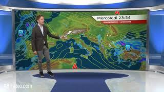 Previsioni meteo Video per mercoledi, 21 novembre