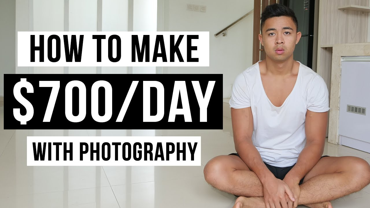 How To Make Money With Photography in 2021 (For Beginners)