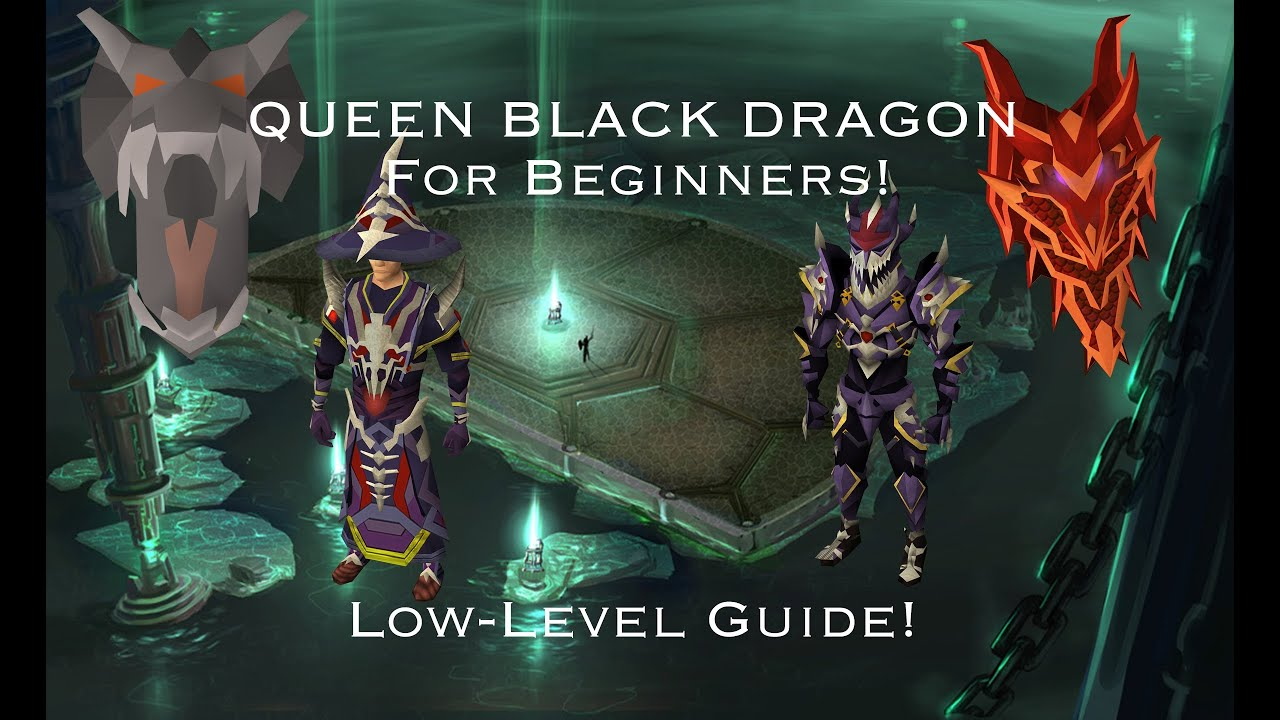 Runescape| queen black dragon guide for the eoc w/ magic by.