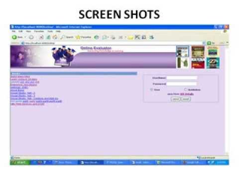 Online Examination Project In Java Youtube