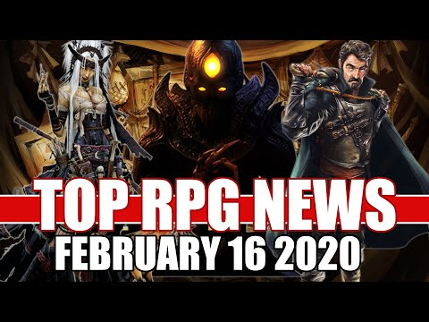 Top RPG News Of The Week - Feb 16, 2020 (Pathfinder Wrath Of The Rigtheous, Hellpoint, Operencia)