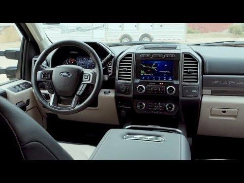 2020 Ford F-450 Super Duty Limited Interior