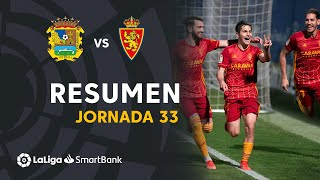 Resumen de CF Fuenlabrada vs Real Zaragoza (0-1)
