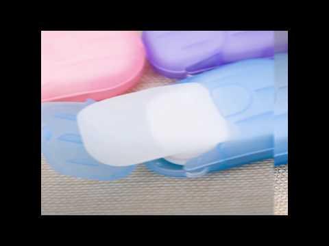 Travel Paper Soap