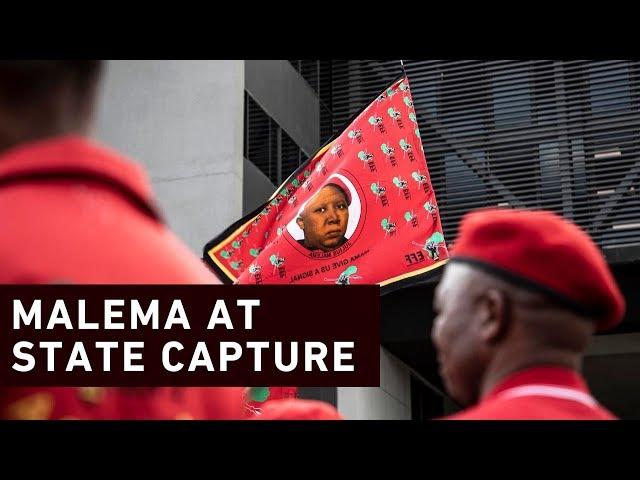'Gordhan and Zuma - same Whatsapp group' - Malema at #StateCapture