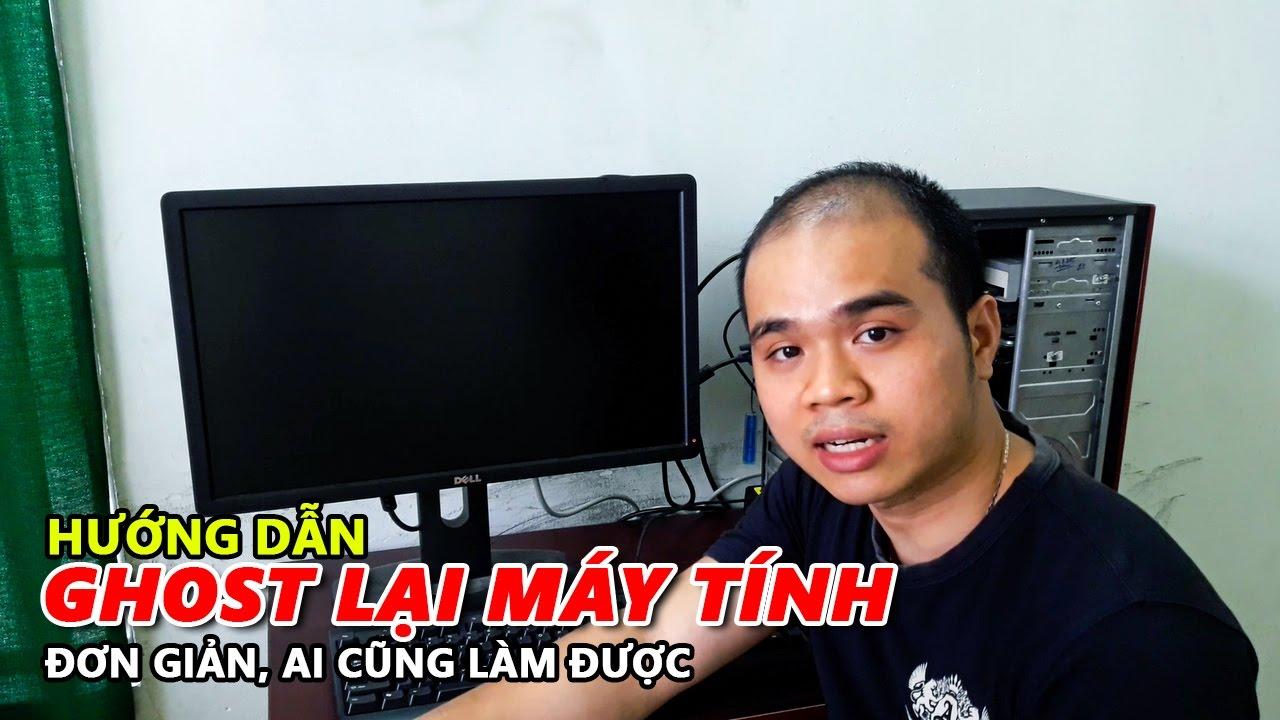 HƯỚNG DẪN GHOST LẠI MÁY TÍNH BẰNG ĐĨA HIREN BOOT | PHỤC HỒI LẠI WINDOWS – Chu Đặng Phú – Phu's Vlog