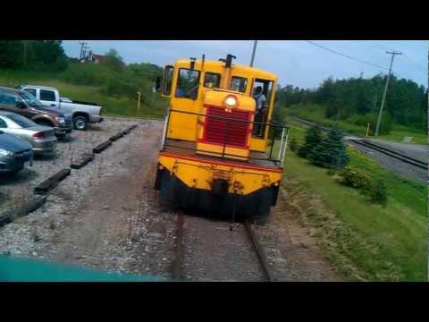 Scenic Train ride on  Lake Superior  & Mississippi Railroad summer 2011