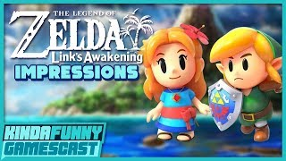 Zelda Link's Awakening Impressions - Kinda Funny Gamescast Ep. 239