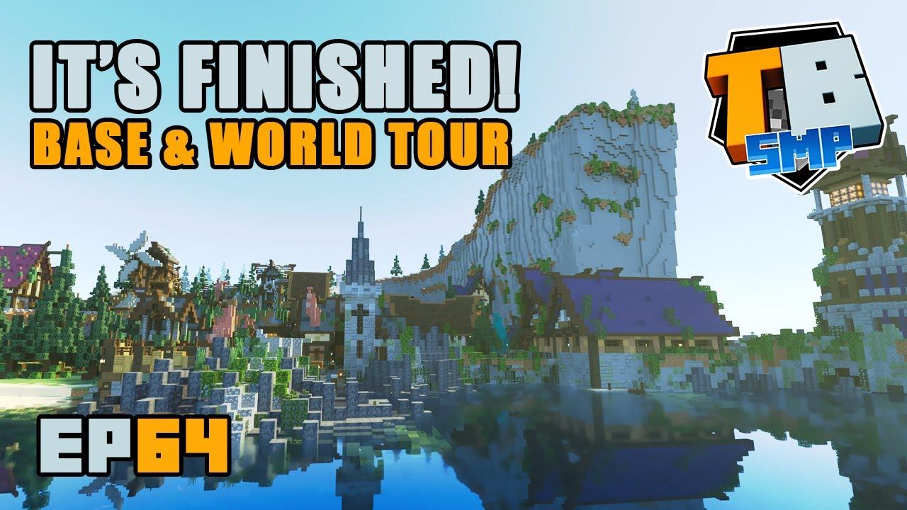 MEGA BASE COMPLETE!! Tour time! | Truly Bedrock Season 2 [64] Minecraft Bedrock SMP