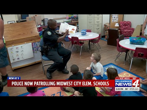All Midwest City elementary schools now assigned officers