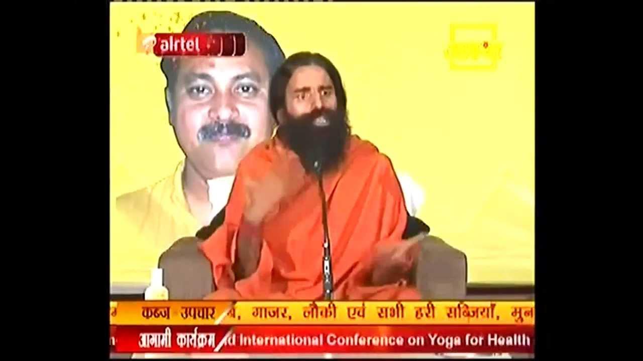 Baba Ramdev Says Rajiv Dixit had Sugar BP & Heart problems !!!!