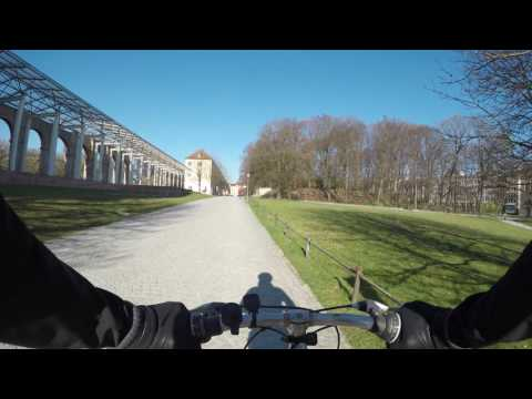 My daily commute: 2017-03 Munich by bike