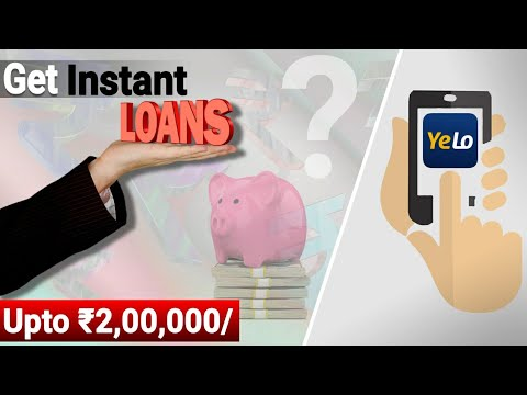 how-to-get-instant-loans-online-in-india- -instant-loan-kaise-le- -aadhar-card-se-loan- -yelo-app...