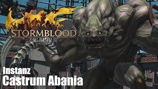 Final Fantasy XIV: Stormblood | 🏛 Castrum Abania | Level 69 | Instanz | Barde | [HD+]