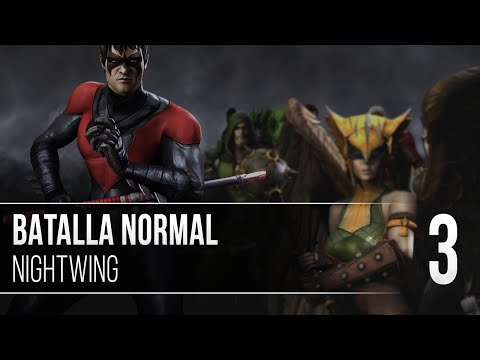 Injustice | Batalla Normal | Ep.3 | Nightwing | Dick Grayson en acción