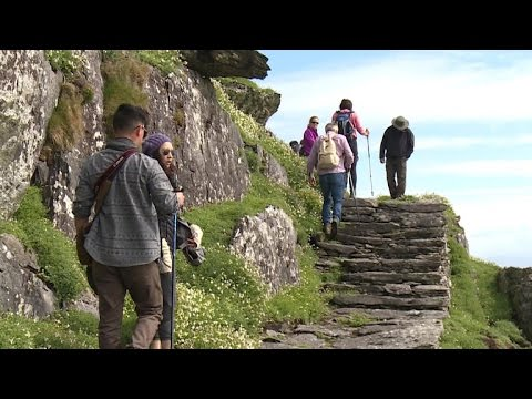"""Tourists flock to remote island featured in """"Star Wars"""""""