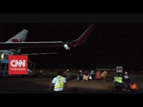 Breaking News! Pesawat Lion Air Senggol Tiang Bandara Bengkulu, Ini Penuturan Saksi Mata Mp3