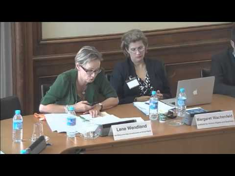 Presentation by Lene Wendland (UN Office of the High Commissioner for Human Rights)