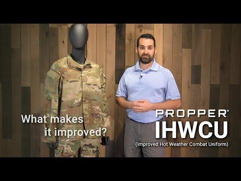 Improved Hot Weather Combat Uniform Features