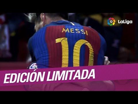 Messi guía al Barça en la locura del Sánchez-Pizjuán