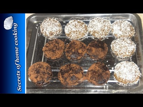 No Bake Cookie – Chocolate And Coconut Cookie