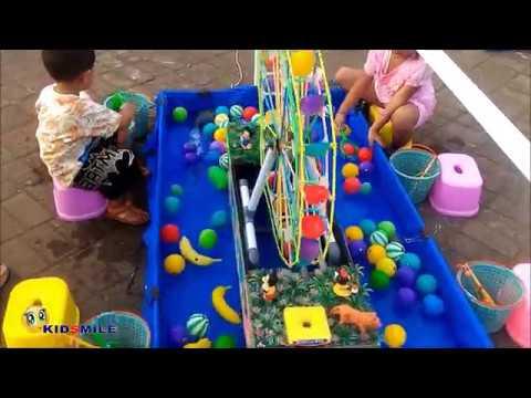 Permainan Anak Pemancingan dan Kincir Air - YouTube bcd068c658