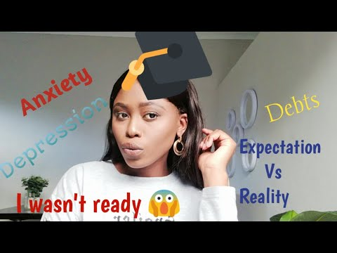 Life after University |Struggles of a graduate |Black Tax|South African YouTuber