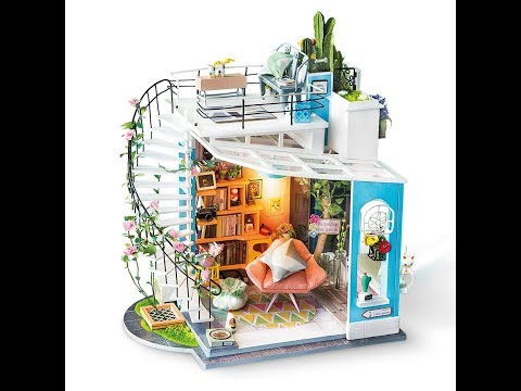Robotime DIY Miniature Dollhouse - DG12 Dora's Loft