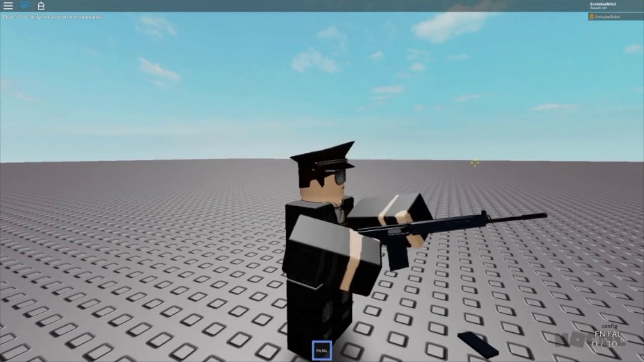 Roblox Studio Gun Animation Nocol How To Change The Gun Id And Make A Whole New Gun Youtube