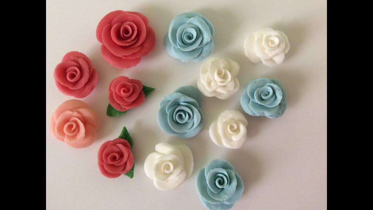Tutorial Flores De Cerámica En Frío Super Fáciles