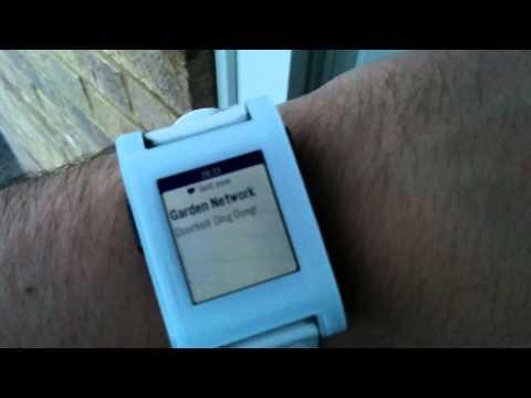 Build a Smart Doorbell that Rings Your Pebble Smartwatch