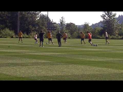 Celtic FC Training Session at the VMAC in Renton, WA