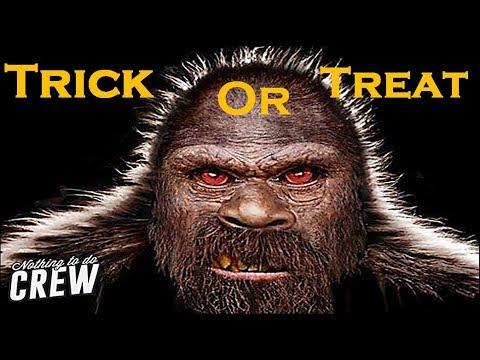 Bigfoot Halloween Scare Prank