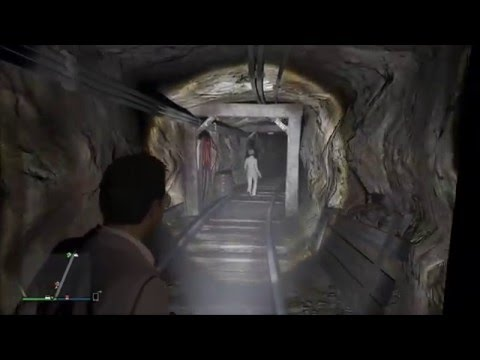 GTA5 - Secret Mine - Location Of The Mystery Dead Body