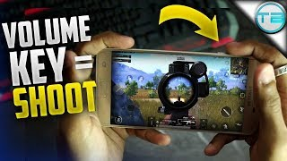 How To Use VOLUME KEY As SHOOT/FIRE Button in PUBG Mobile
