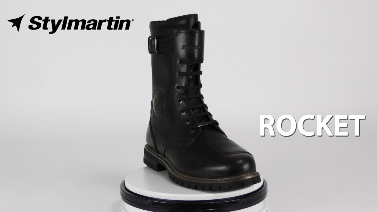STYLMARTIN ROCKET MOTORCYCLE BOOTS REVIEW URBAN RIDER