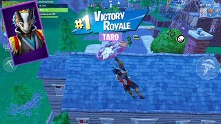 Fortnite #2 playing with the new taro skin best mobile fortnite