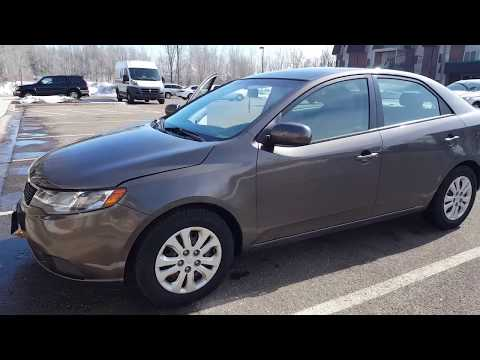 Покупка KIA Forte. За сколько можно купить подержанный автомобиль в США.