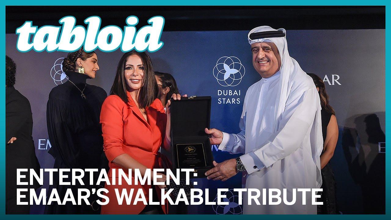 Opening ceremony of Dubai stars – Emaar's walkable tribute