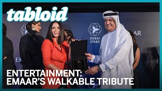 Opening ceremony of Dubai stars - Emaar's walkable tribute