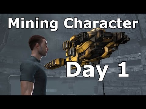Mining Character Day 1 - EVE Online
